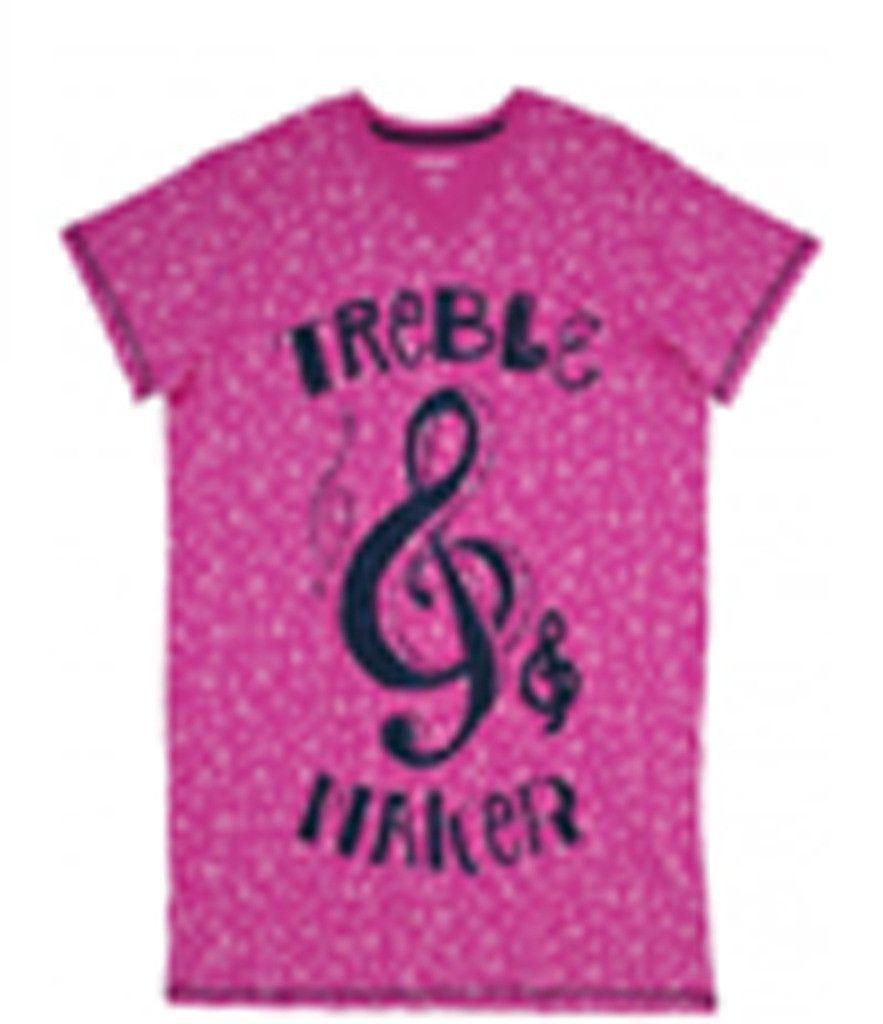 Hatley Treble Maker Sleepshirt Pink
