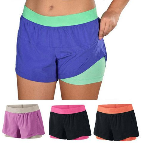 2-in-1 Active Sports Shorts