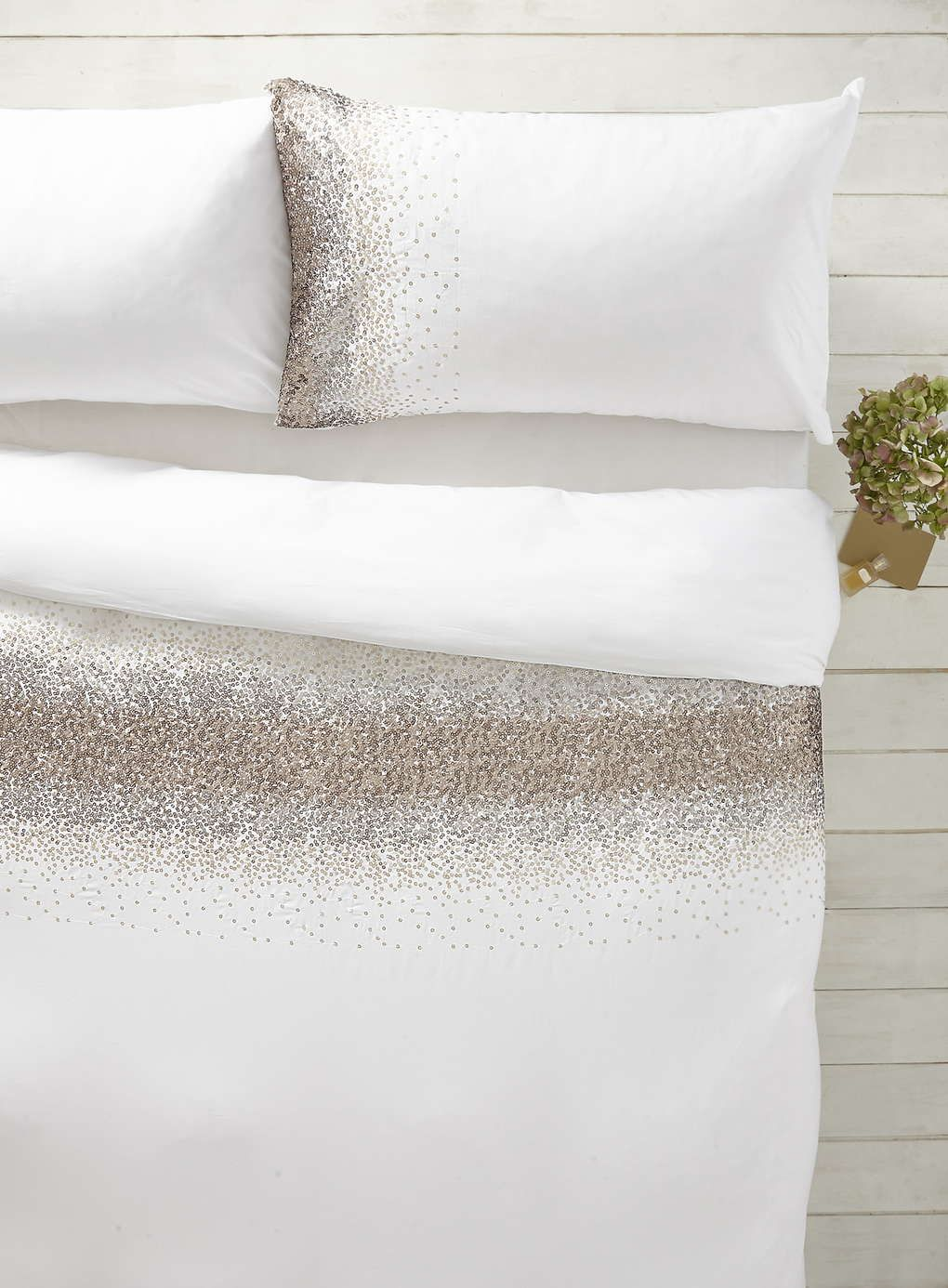 1928 Gold Ombre Sequin Bedding Set - BHS | comforters ...