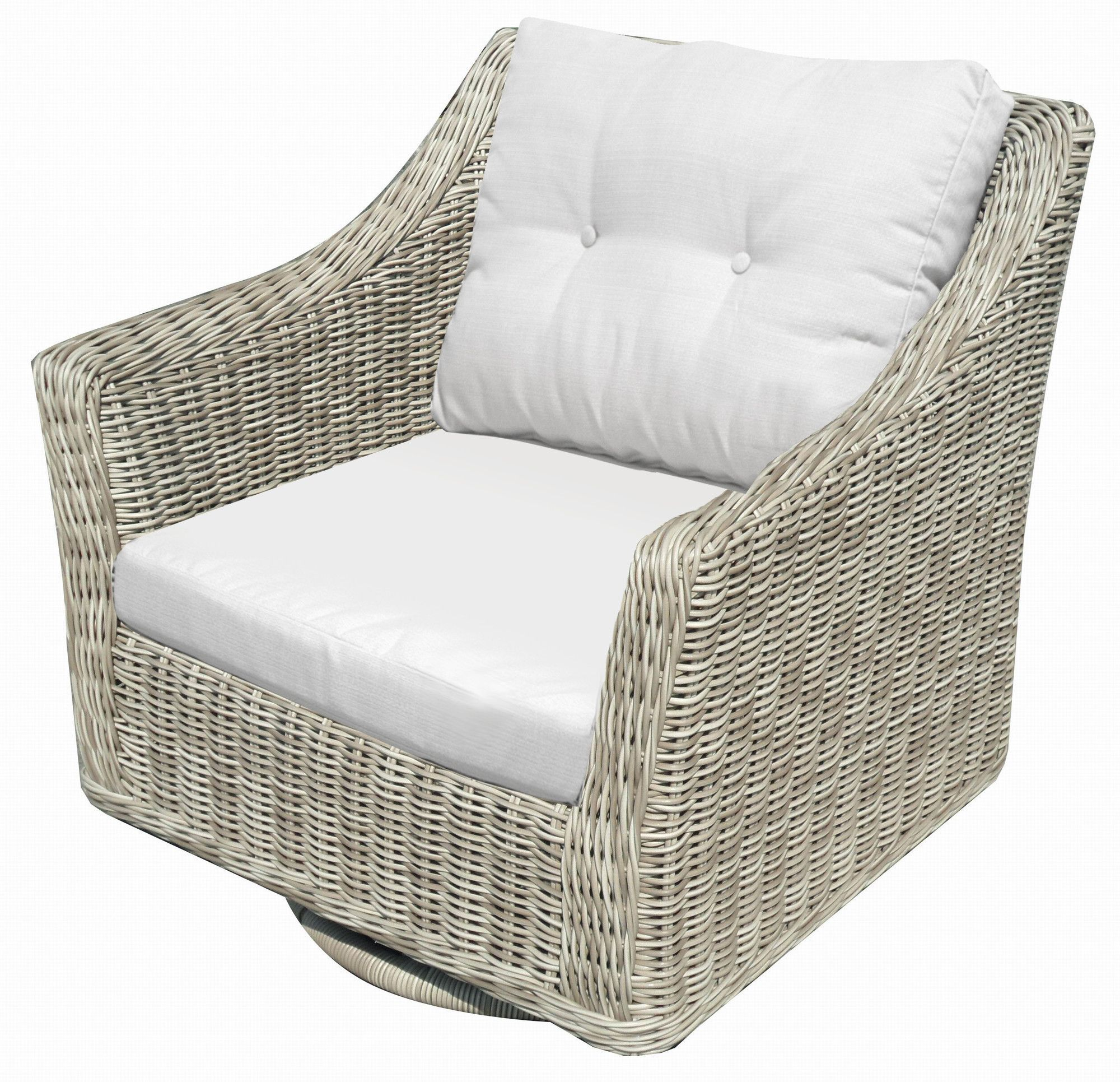Lassiter Swivel Rocking Chair With Cushions Wayfair Outdoor Wicker Chairs Patio Rocking Chairs Swivel Glider Chair