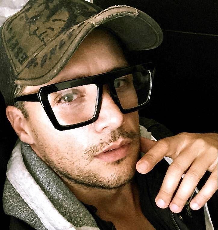Mens fashion geek glasses 95