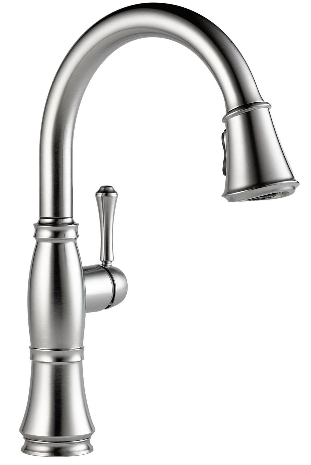 Cassidy Pull Down Single Handle Kitchen Faucet With Magnatite