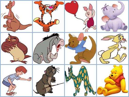 Characters Winnie Pooh