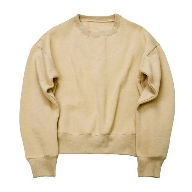 dc87314b61a4b 2018 NEW Sweatshirts simple solid men's Hoodies oversize drooping shoulders  men'smodkily