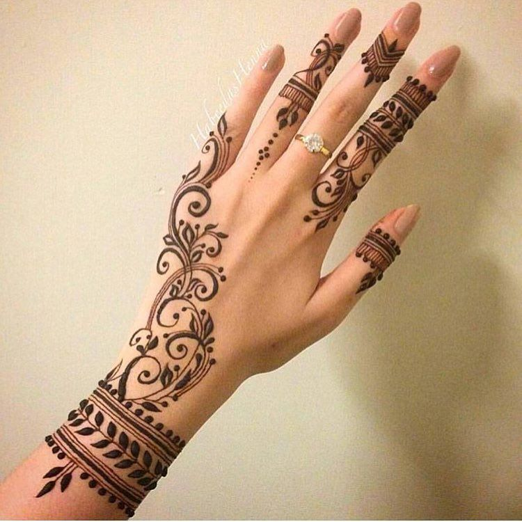 Mehndi Patterns Instagram : Likes comments henna designs and much more