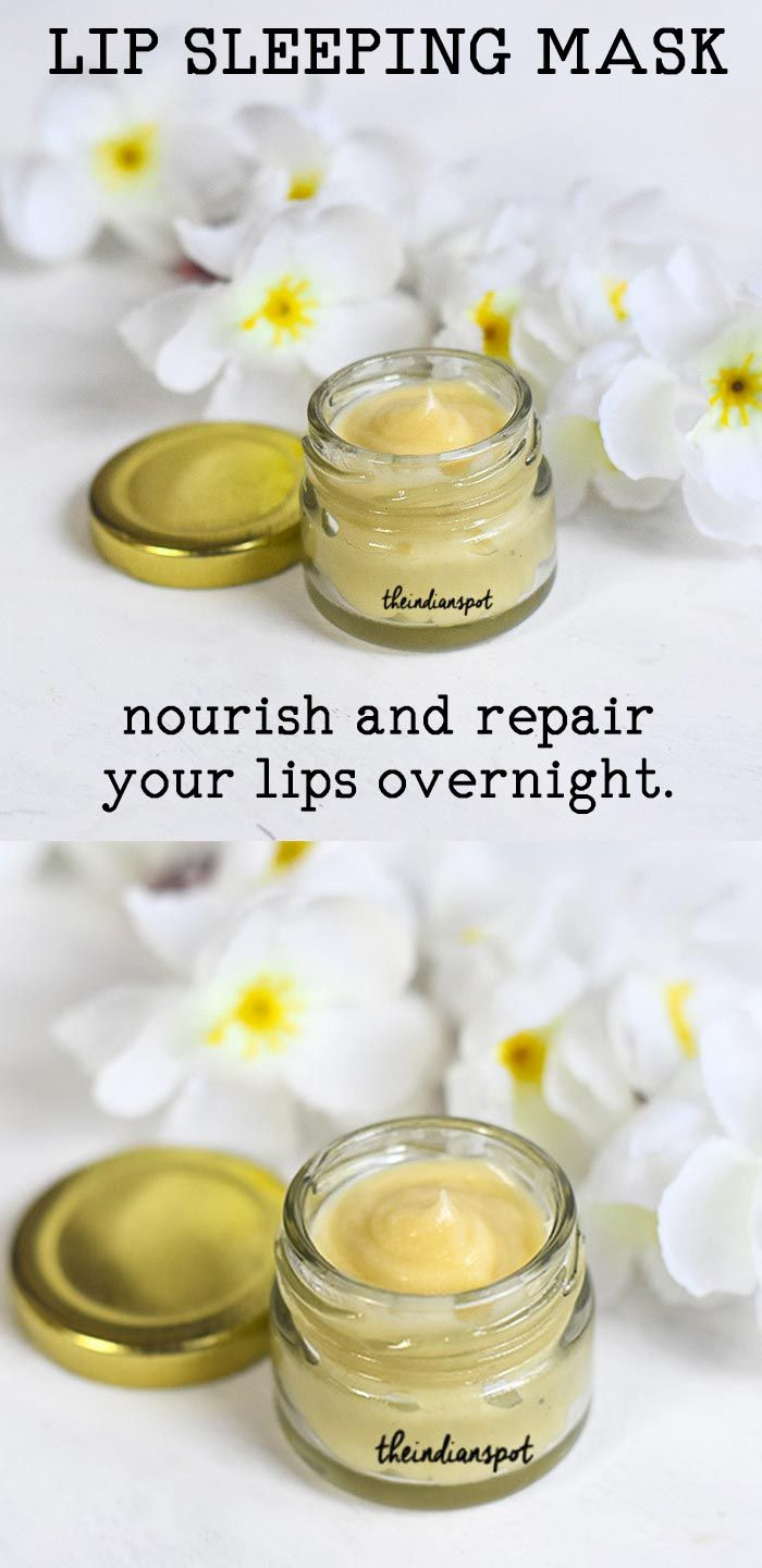 Lip Sleeping Mask Nourish And Repair Lips Overnight Lip Sleeping Mask Diy Lip Mask Diy Lips