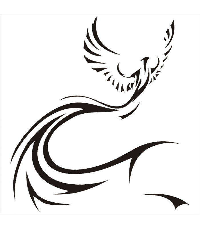 Phoenix Tattoo Idea Phoenix Tattoos Png Transparent Images Png Is About Is About Silhouette Neck Angel Monoc Neck Tattoo Phoenix Tattoo Silhouette Tattoos