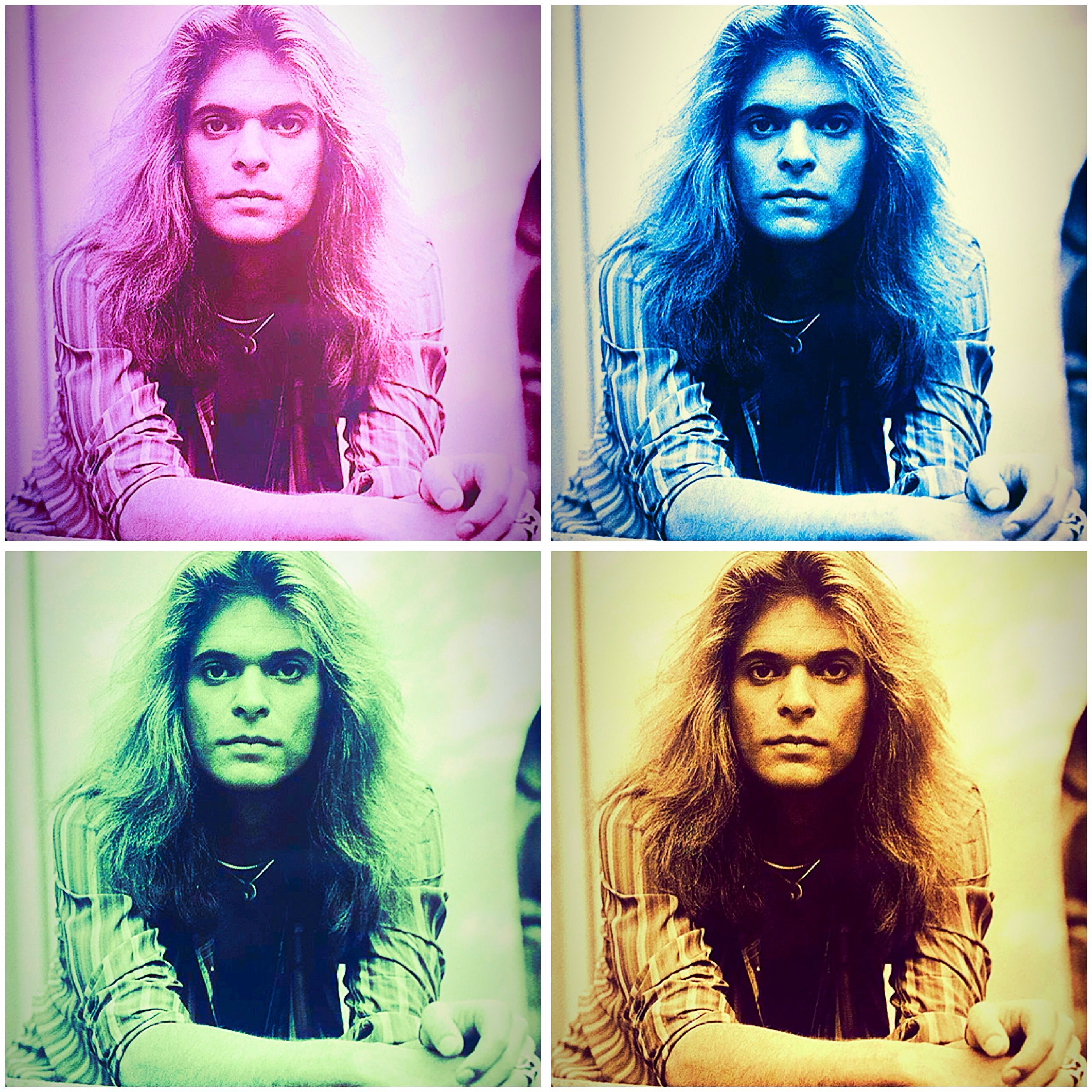 Diamond Dave David Lee Roth Van Halen Eddie Van Halen