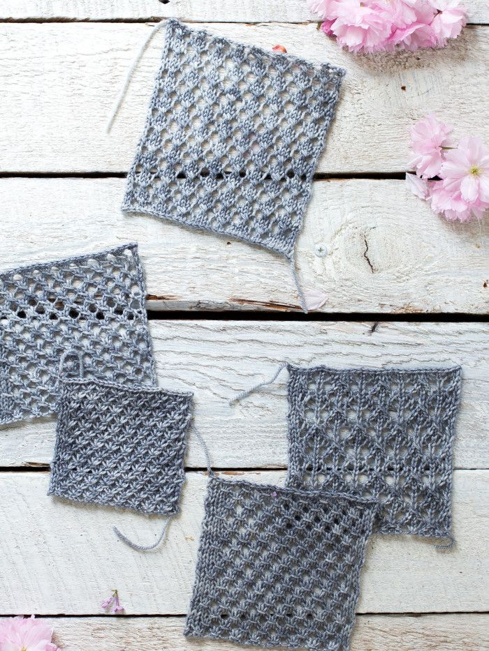 How To Make An Easy Lace Knit Shawl Pattern | Lace knitting, Knit ...