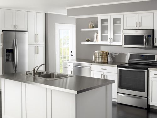 Whirlpool Freestanding Stainless Kitchen Collection