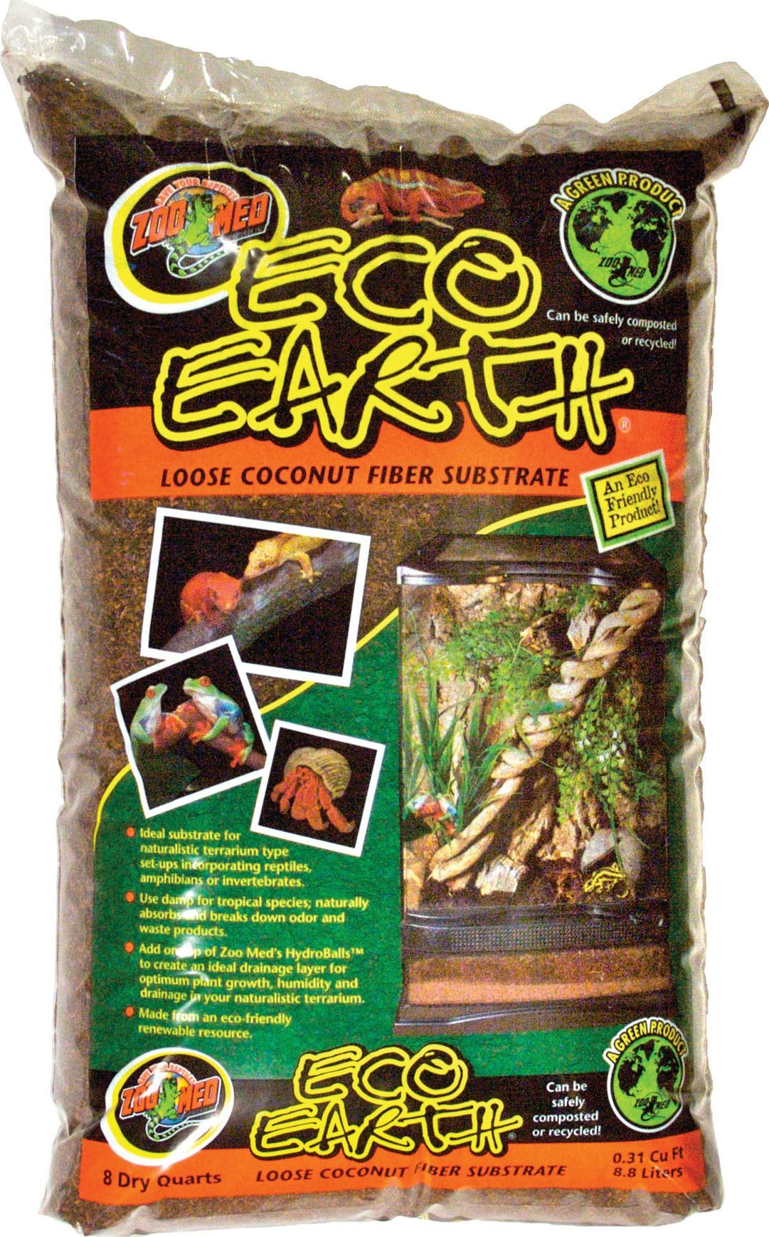 ECO EARTH LOOSE COCONUT FIBER SUBSTRATE Zoo med, Coconut