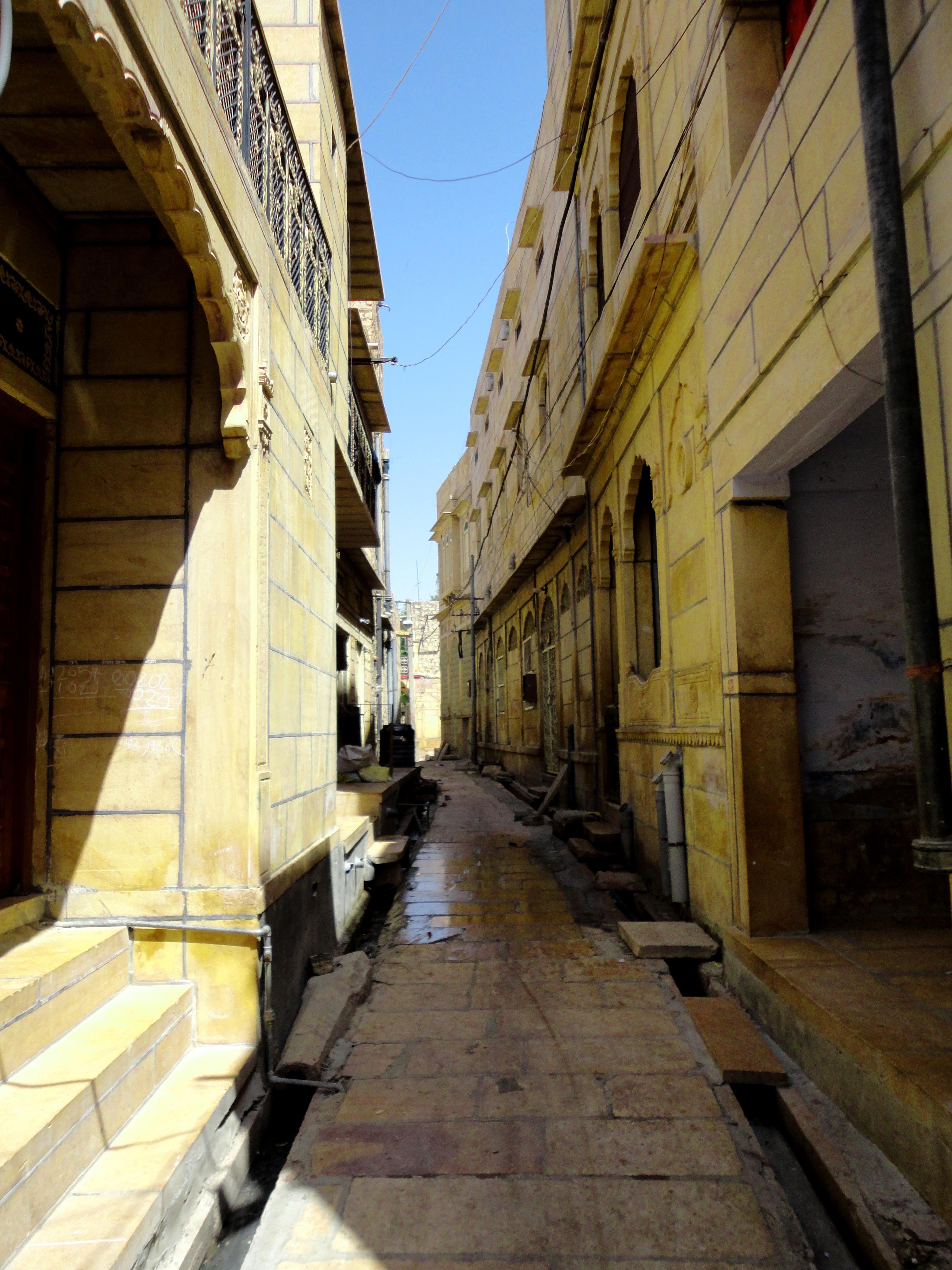 The quaint lanes of Jodhpur