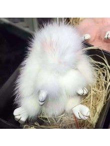 Fendi Copenhagen White Rabbit Bag Bug  ed5a2e59c