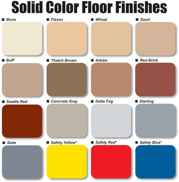 Epoxy floor paint colors the garage organization for What color to paint garage floor