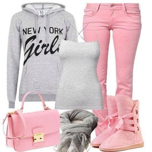 Outfit! Teen fashion☮ I don't dig the uggs but its super cute!