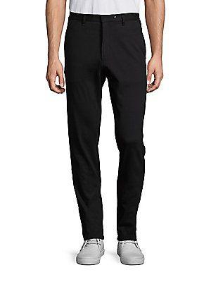 Rag & Bone Auden Cotton Pants - Black - Size 3