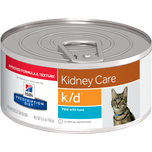 Kidney Care Hills prescription diet, Canned cat food