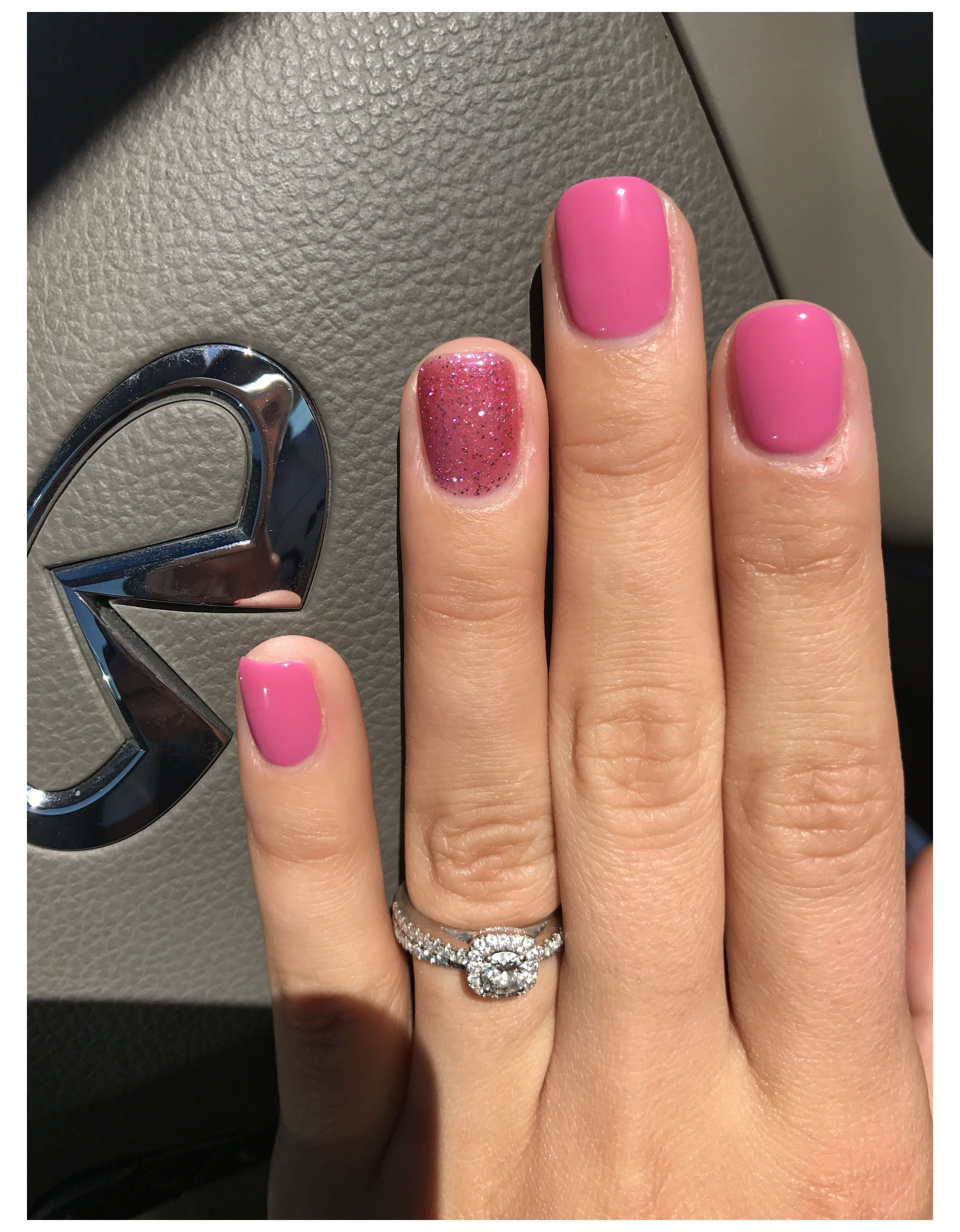 short gel nails spring summer