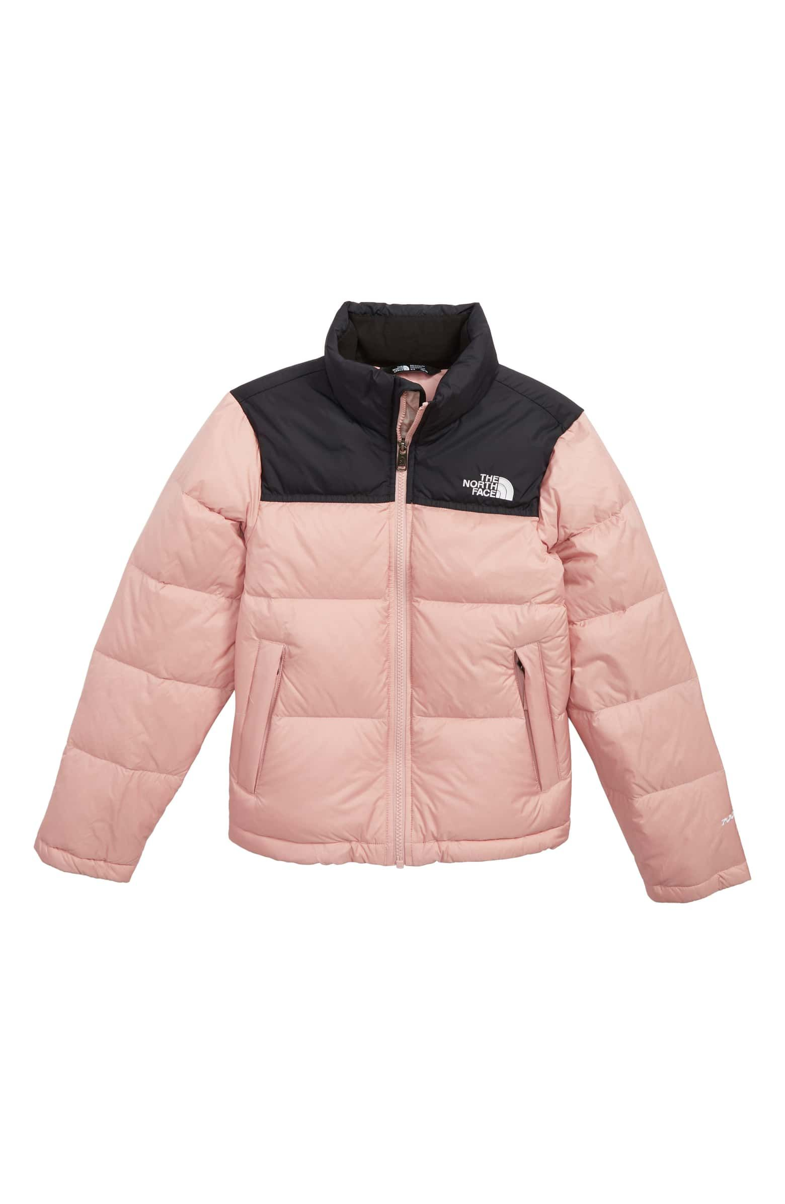 fb8dc84632104 Nuptse 700 Fill Power Down Puffer Jacket, Main, color, MISTY ROSE ...