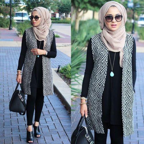 Extrêmement Hijab Fashion 2016/2017: Sélection de looks tendances spécial  QD56