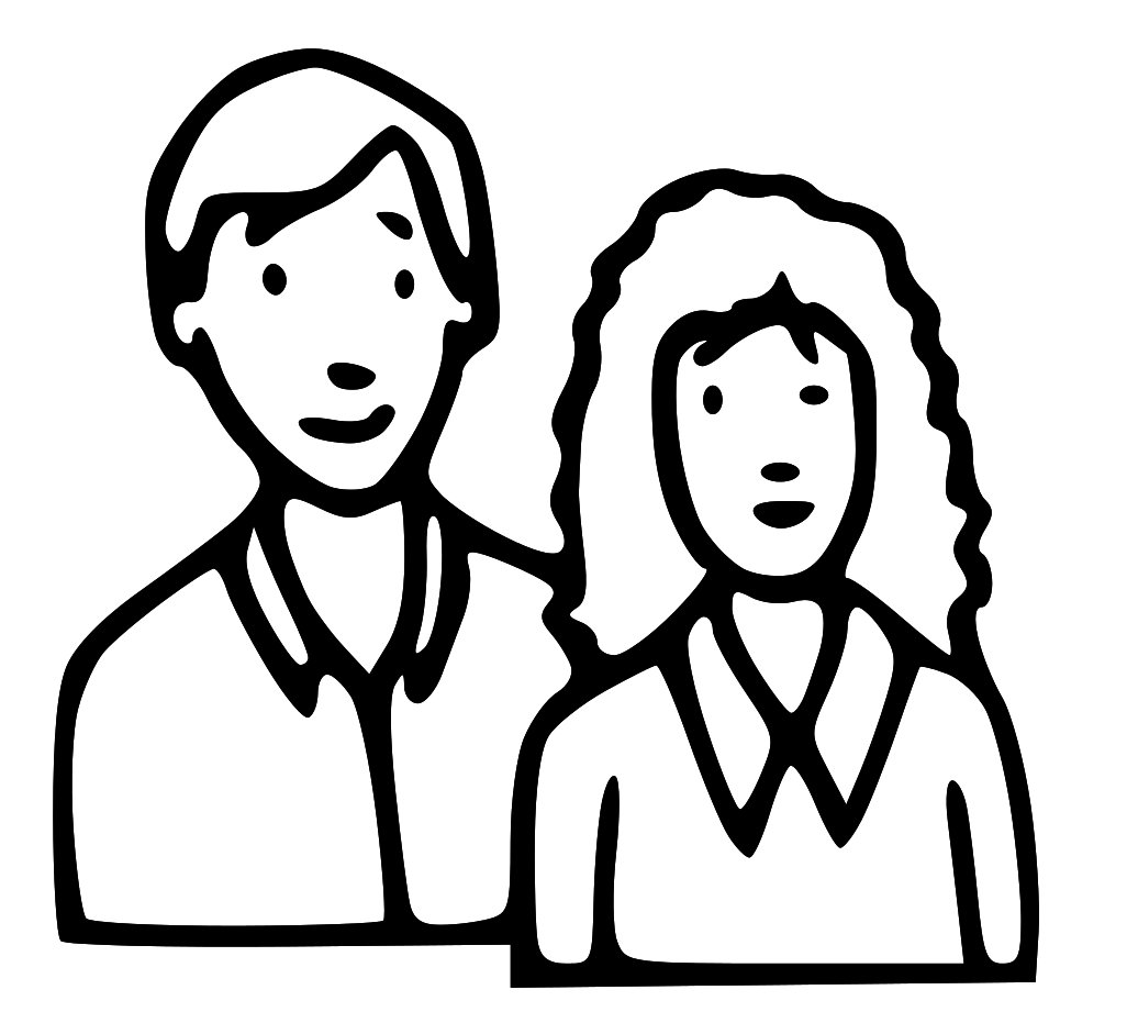 Coloring pages for mom and dad - Mom Dad Coloring Pages In And