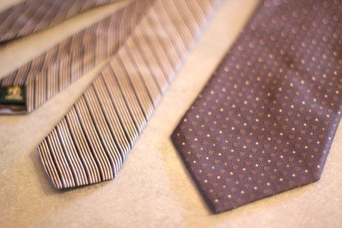 Skinny ties, tutorial