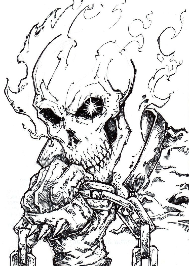 Ghost Rider 4 by ChrisOzFulton on DeviantArt | Comics | Pinterest ...