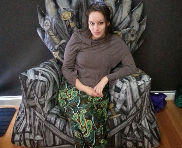 Make Your Own Got Bean Bag Iron Throne Game Of Thrones