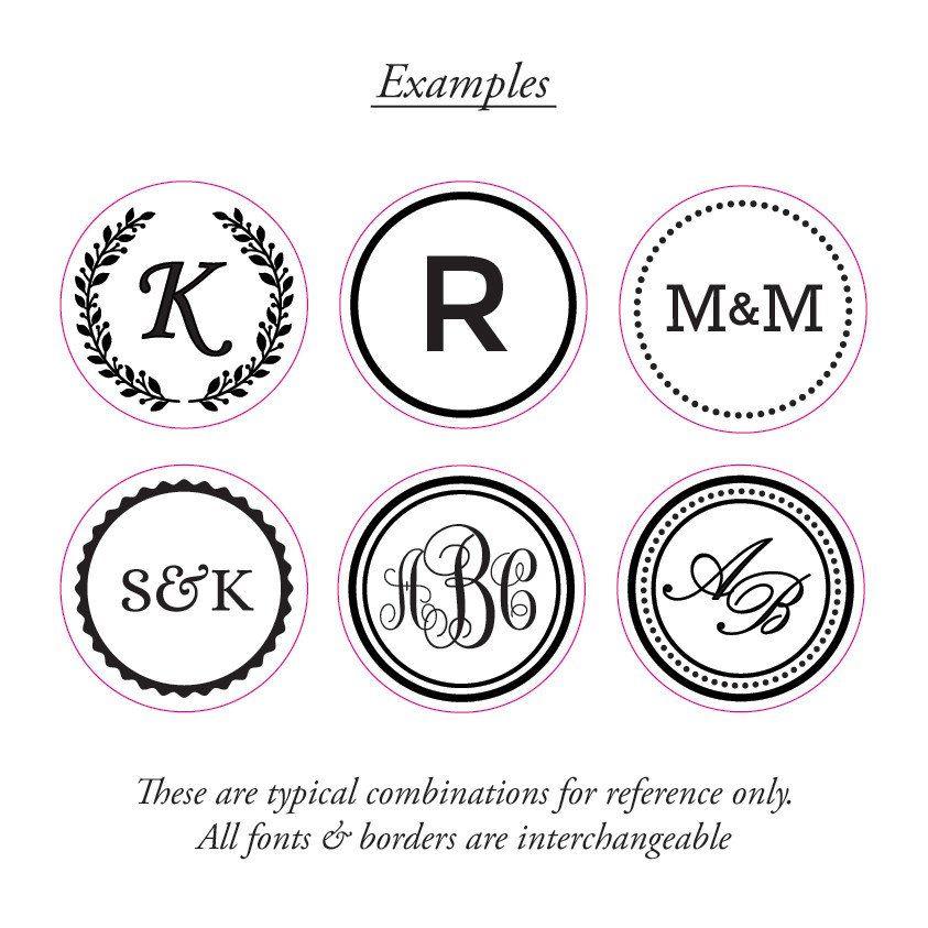 Monogram Wax Seal