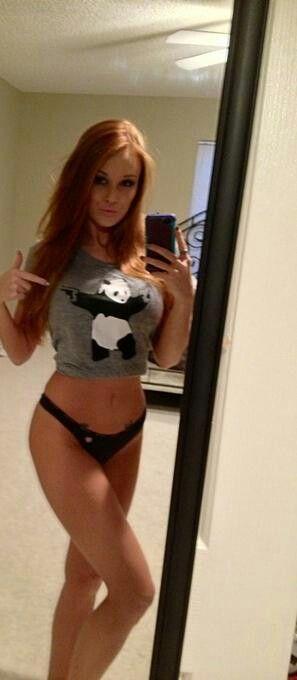 pics mirror Cute redhead