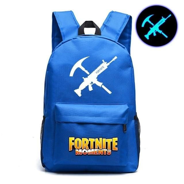 9e1de648dd Fortnite Moments] Backpack | Rygsekk | School bags for boys, School ...