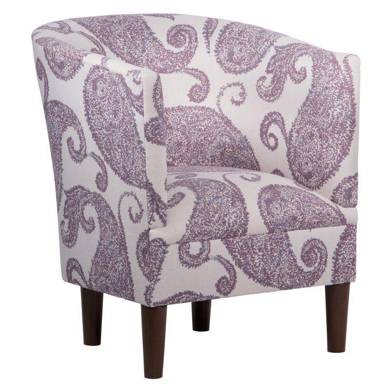 Skyline Furniture Tub Chair - Henley French Lavender - 81-1HNLFRNLVN