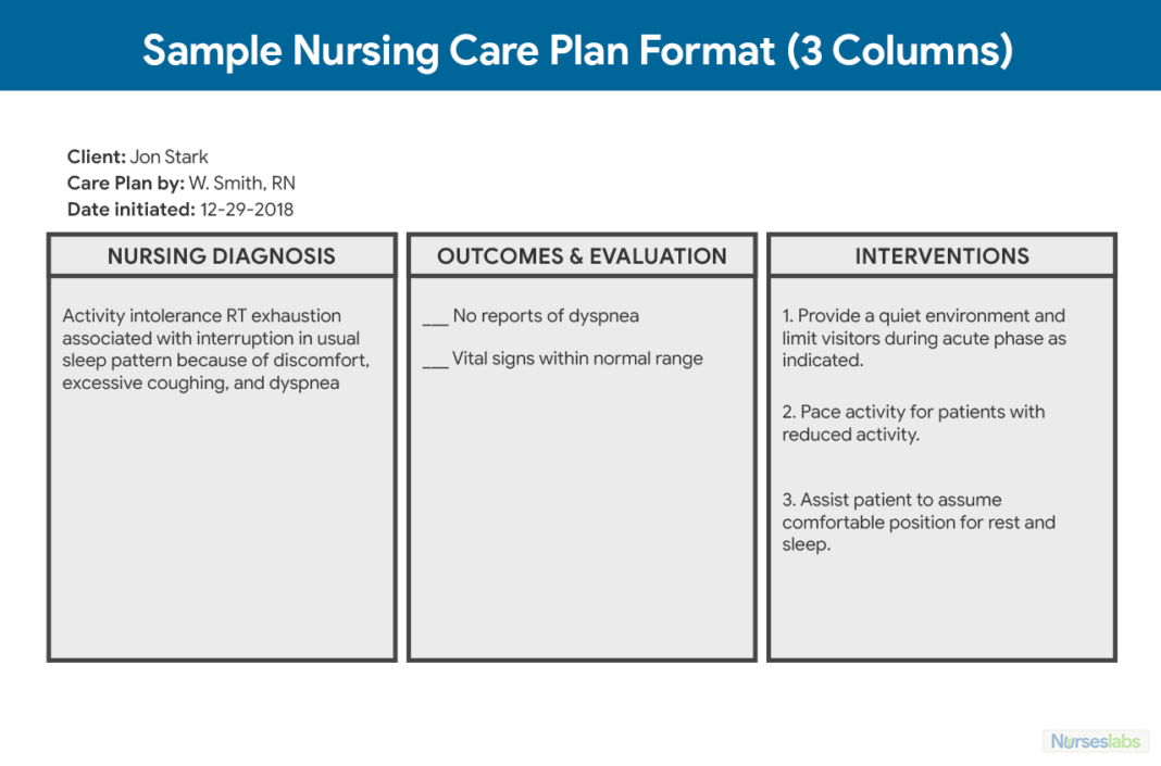 1,000+ Nursing Care Plans The Ultimate Guide and Database
