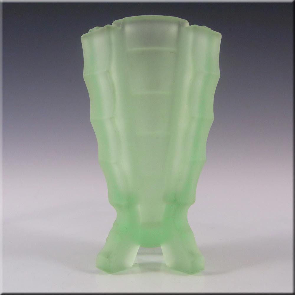 Bagley 1930s art deco uranium glass bamboo vase 3007 3000 bagley 1930s art deco uranium glass bamboo vase 3007 3000 reviewsmspy