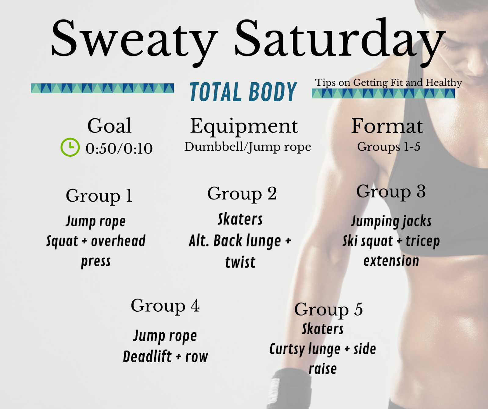 Sweaty Saturday total body workout 💪🏻💪🏻💪🏻  #instafit #motivation #fit #TFLers #fitness #gymlife #pus...