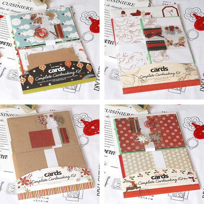 make your own christmas card kits