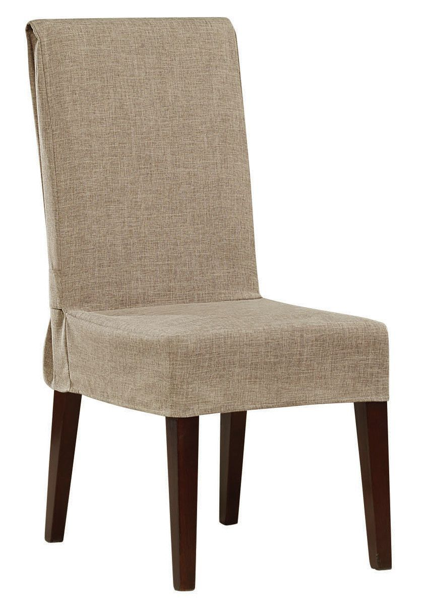 Shorty Dining Chair Slipcover  Dining Chair Slipcovers Chair Delectable Large Dining Room Chair Covers Design Ideas