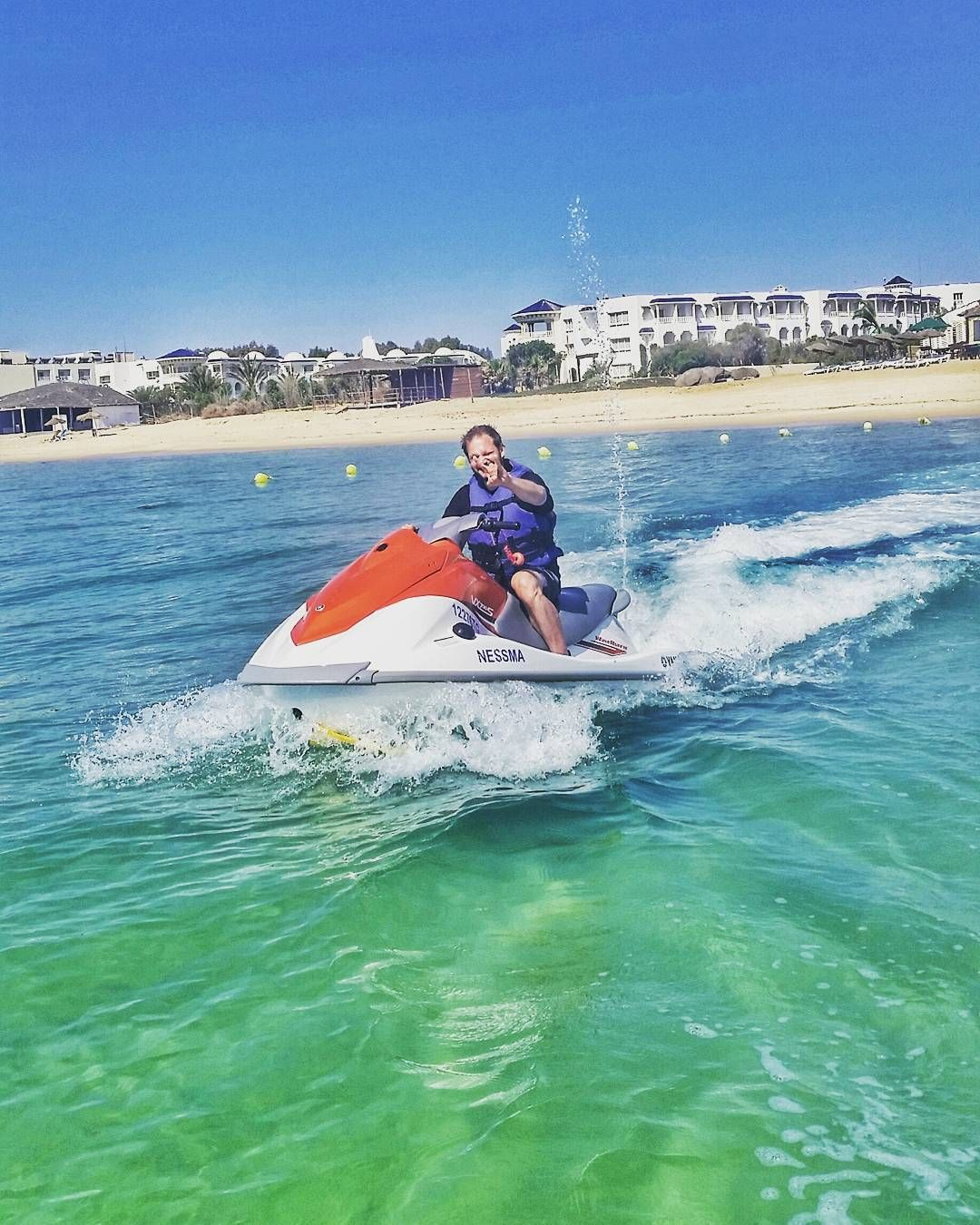 Yeah baby! My first time on one of these beasts and it's really one big adrenaline boost. No idea why I never did this before.  Awesomeness!   #TunisiaChallenge