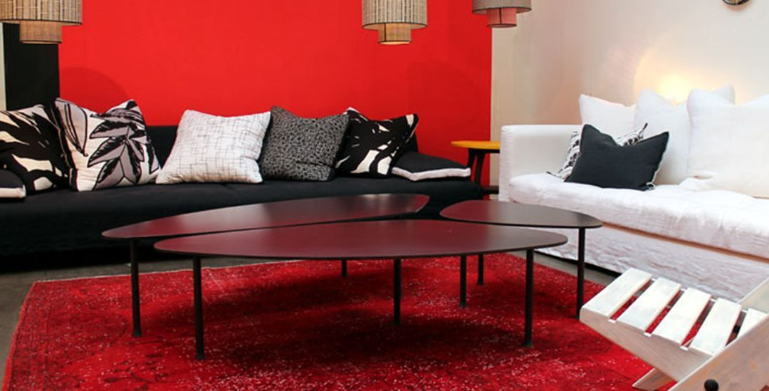 3 petites tables basses pour le salon CARAVANE