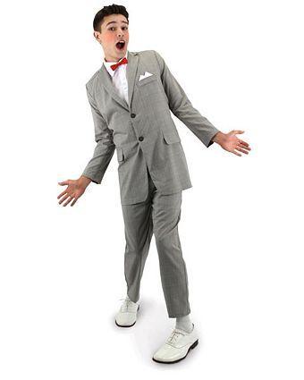 Mens Pee Wee Herman Costume - Mens Clearance Halloween Costumes ...