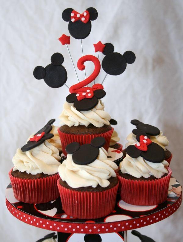 Prime 4282219005 800E1A14Cf Mickey Cupcakes Minnie Mouse Cupcake Cake Birthday Cards Printable Riciscafe Filternl