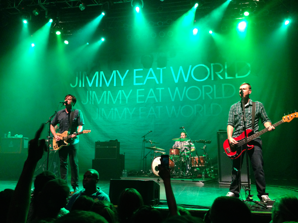 Jimmy Eat World Is Playing At Marquee Theater September 29th Http Www Tempetourism Com Events 7770 Jimmy Eat World Marquee Theater Jimmy