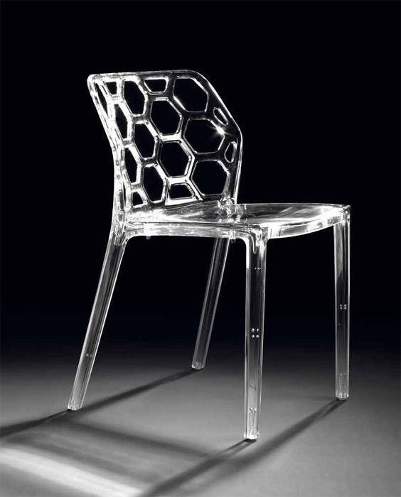 Sillas modelo josep transparente sillones y sillas for Sillas metacrilato transparente