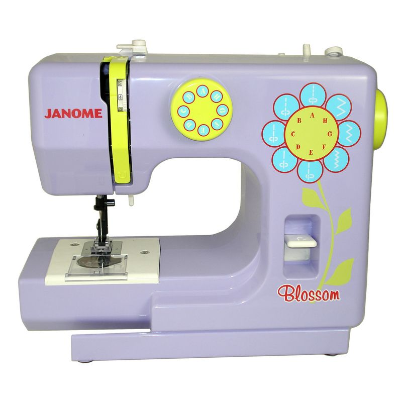 sewing machine for kids — Janome Blossom | Kids sewing ...