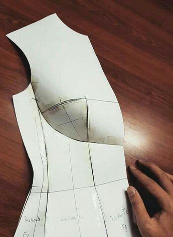 shelf bust corset dress pattern no source but a picture