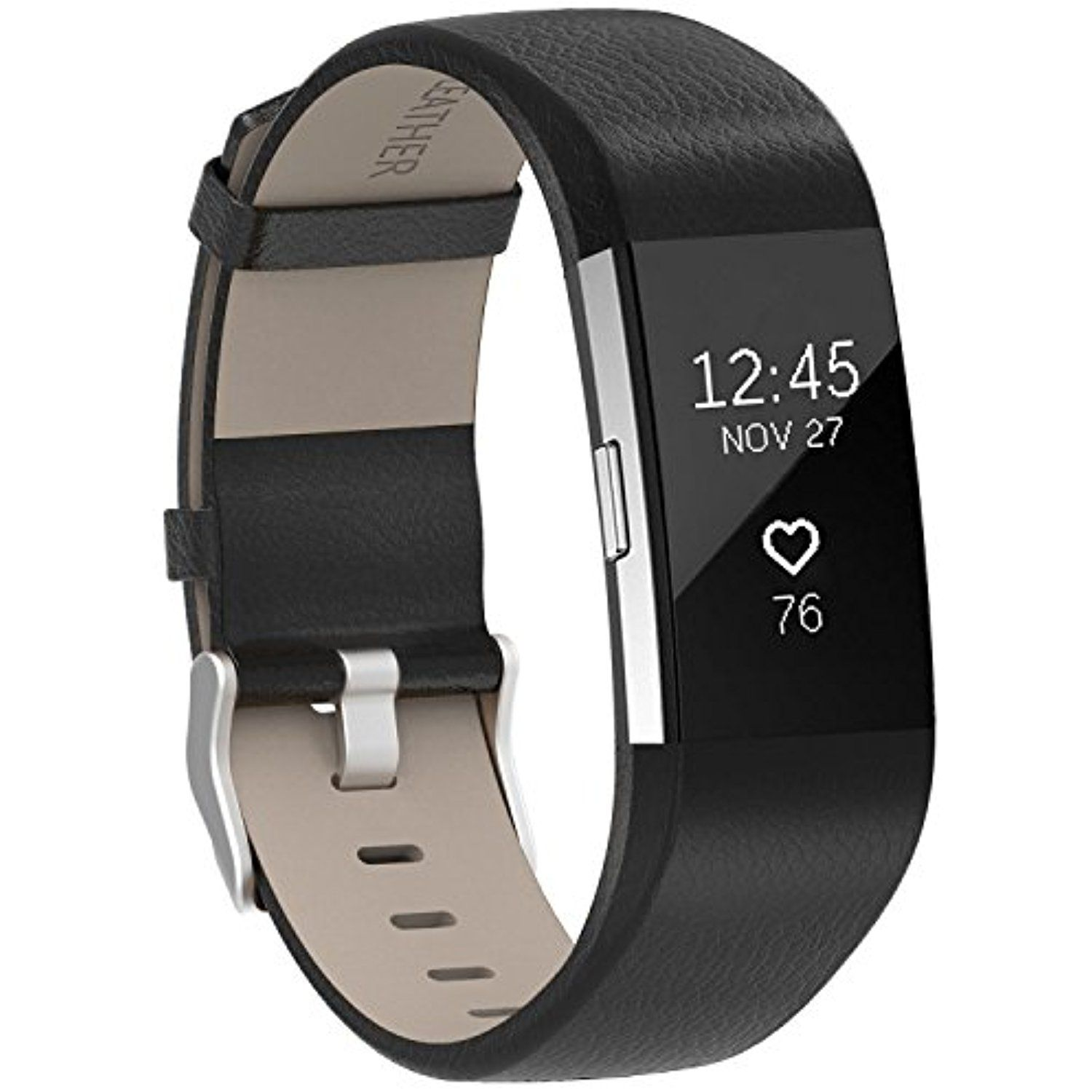 For Fitbit Charge 2 Bands Leather Henoda Replacement Strap For Fitbit Charge 2 Women Men Large Small Check Out This Great Product This Is An A Reloj Puros