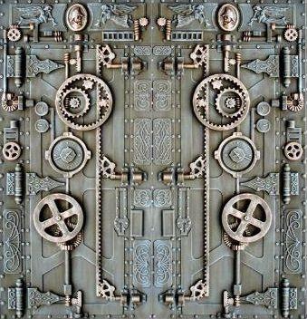 ste&unk door & steampunk door | Steam punk Punk and Doors