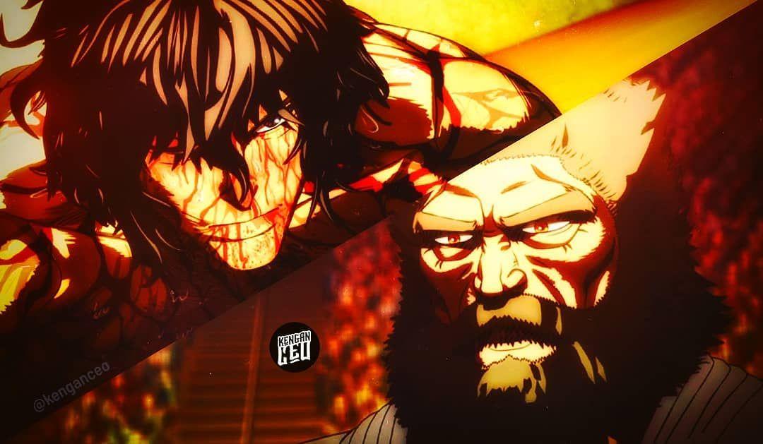 Ohma Tokita Vs Kuroki Gensai Kengan Ashura Anime Kengan Omega Anime Naruto Shippuden Darth Vader
