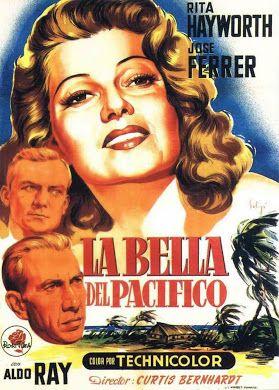 La Bella Del Pacifico 1953 Descargacineclasico Net Cine Clasico Carteles De Cine Cine
