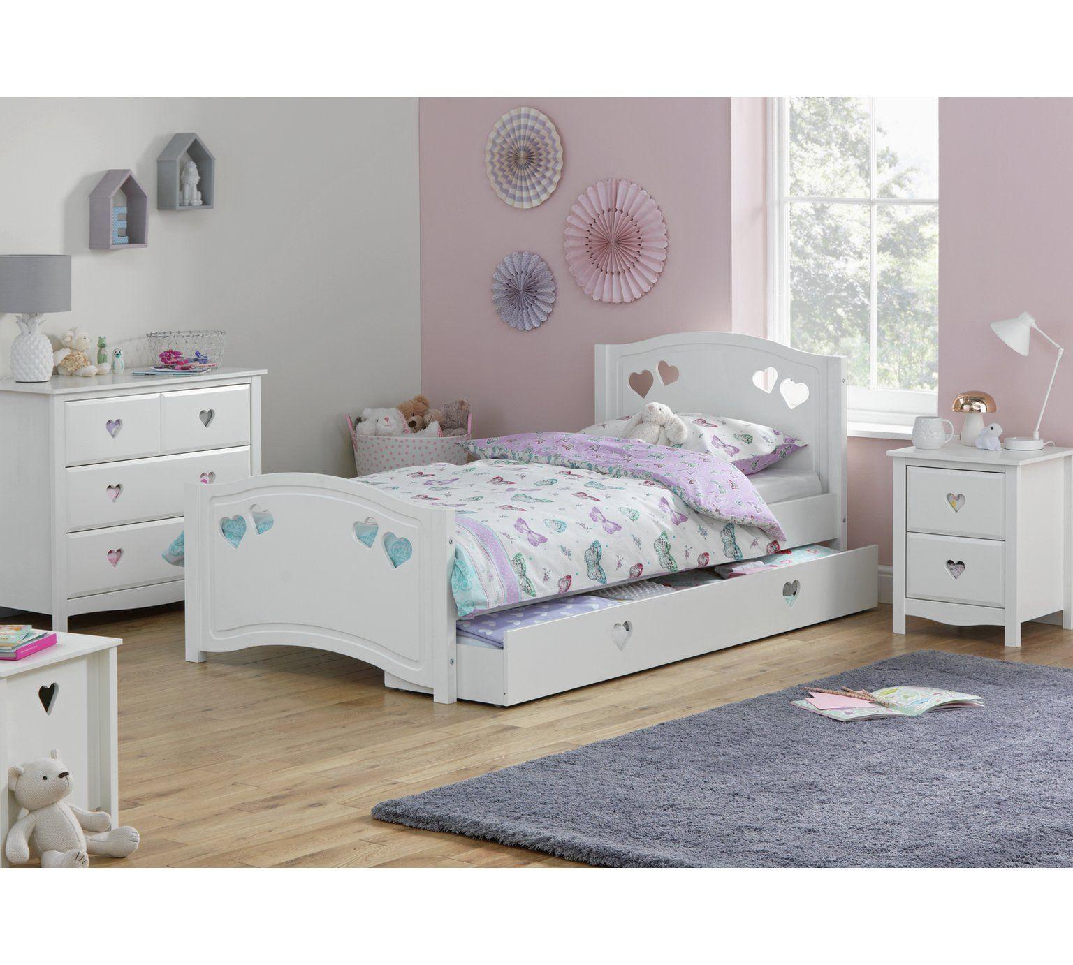 Buy Argos Home Mia Single Bed Frame White Kids Beds Argos White Single Bed Frame White Kids Bed Single Bed Frame